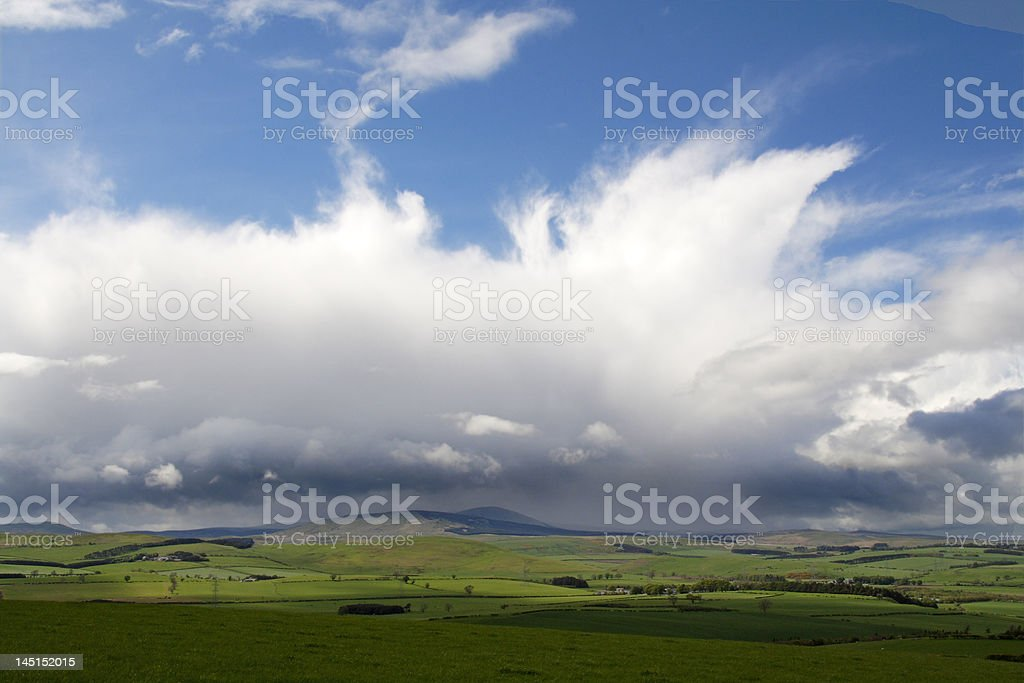rain a coming royalty-free stock photo