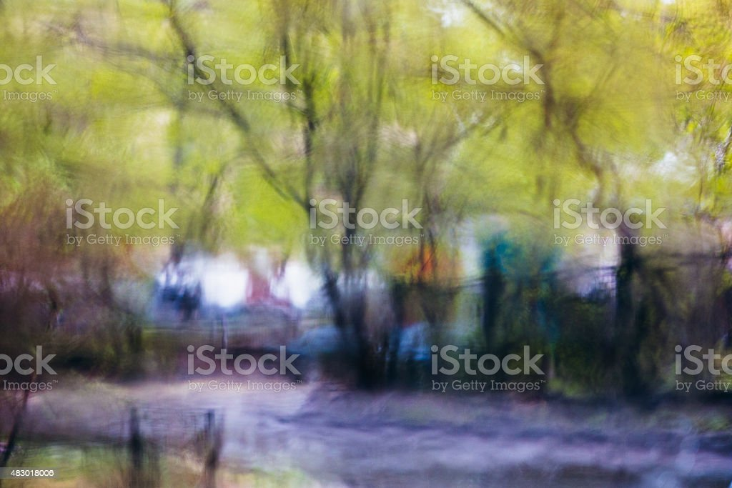 rain abstract background stock photo