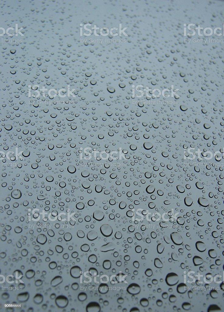 Rain and Tears stock photo