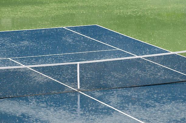 Rain Delay stock photo