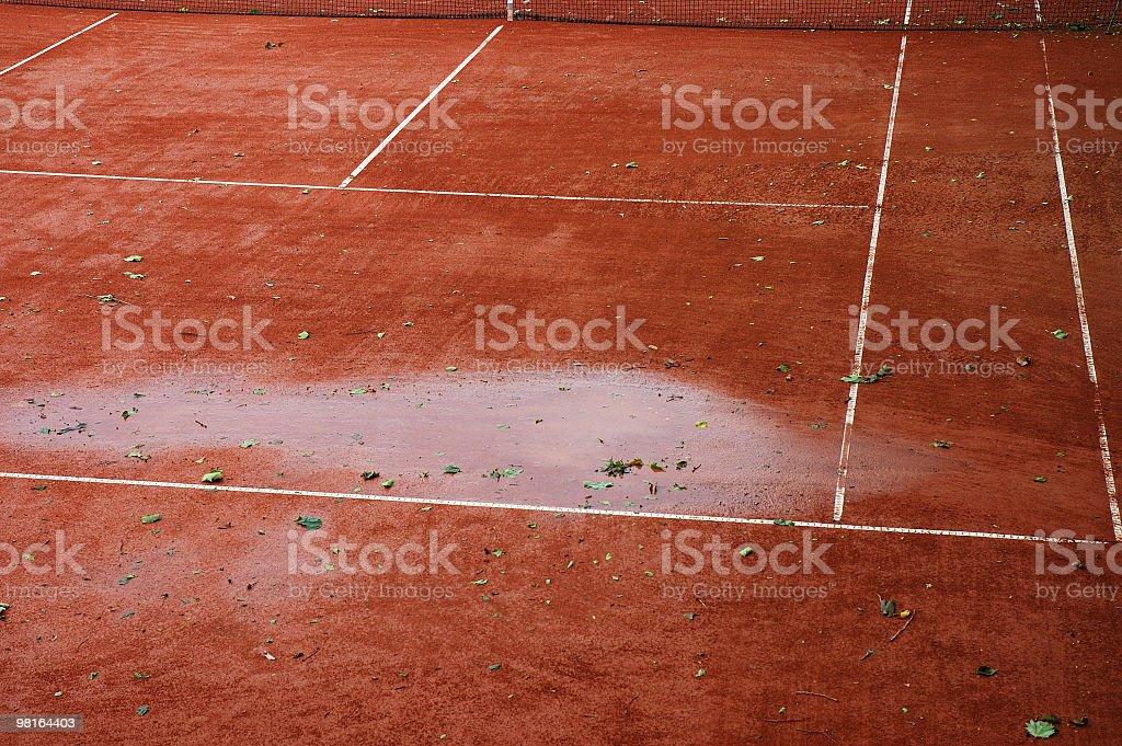 Rinviato per pioggia foto stock royalty-free