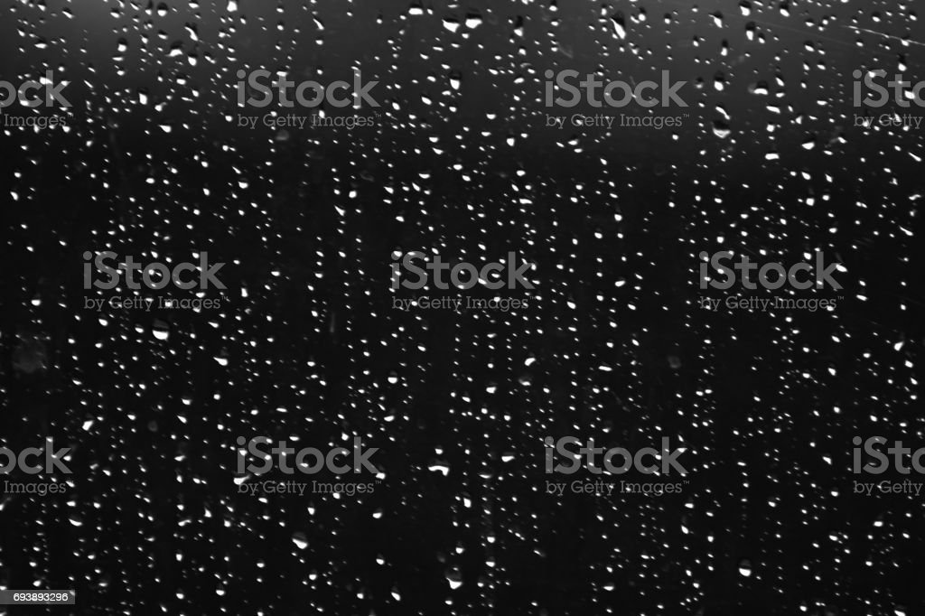 Rain drops stock photo