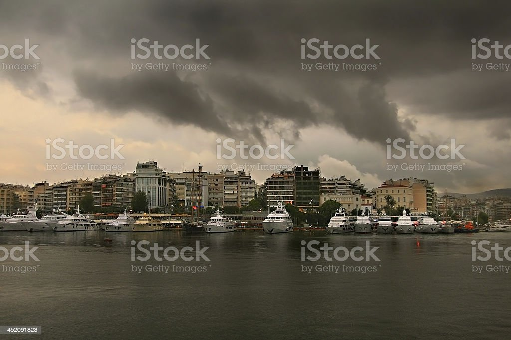 Rain is coming royalty-free stock photo
