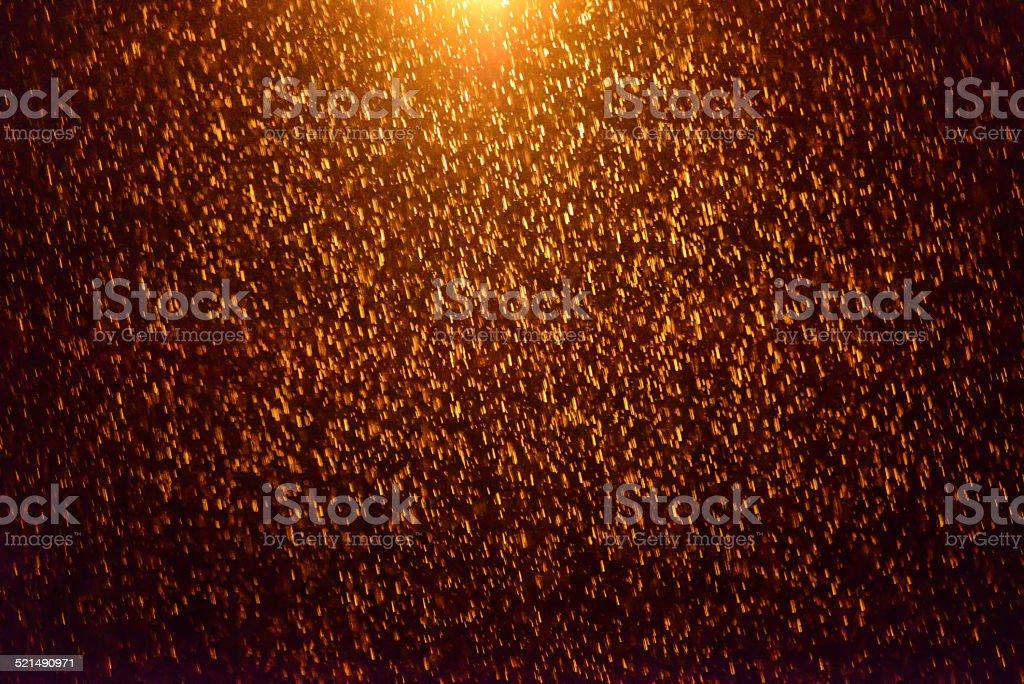 Rain & Light stock photo