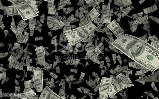 istock USD rain on black background 1021215264