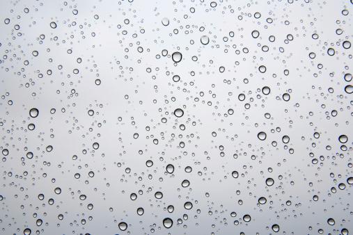 Rain On The Window Stock Photo - Download Image Now