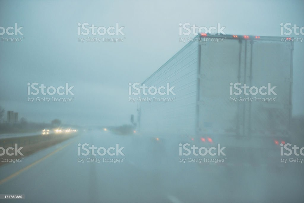Rain Storm royalty-free stock photo