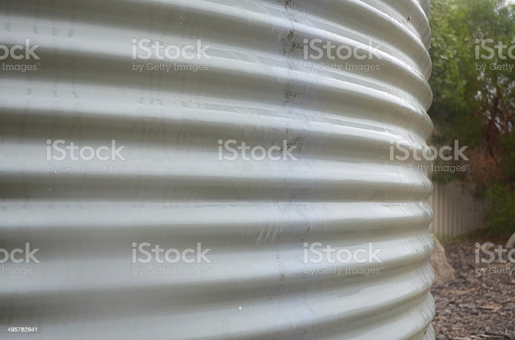 Rain Water Tank stock photo