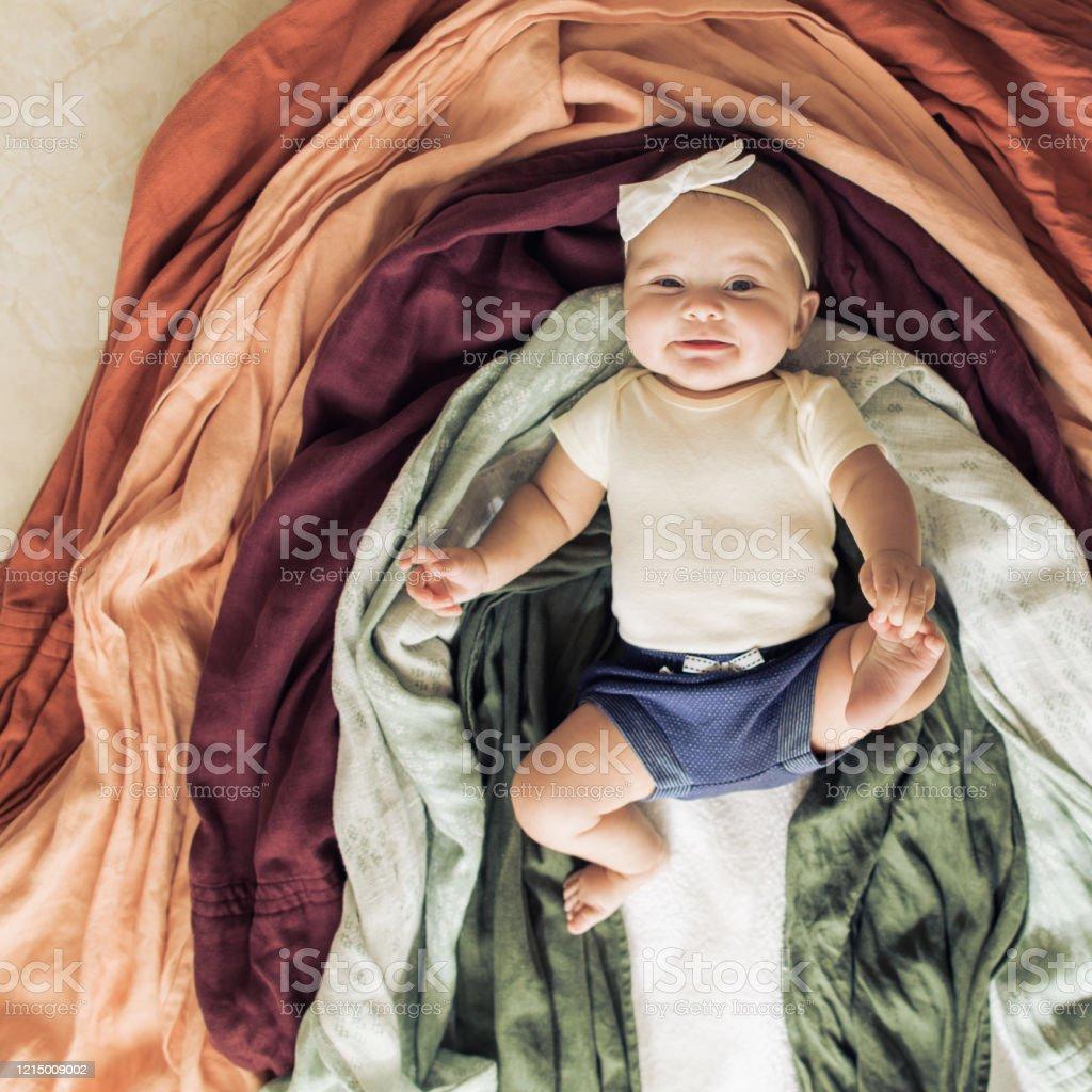 Rainbow Baby Stock Photo - Download Image Now - iStock