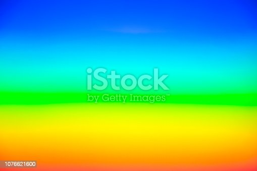 istock rainbow background. blurred colorful background design. 1076621600