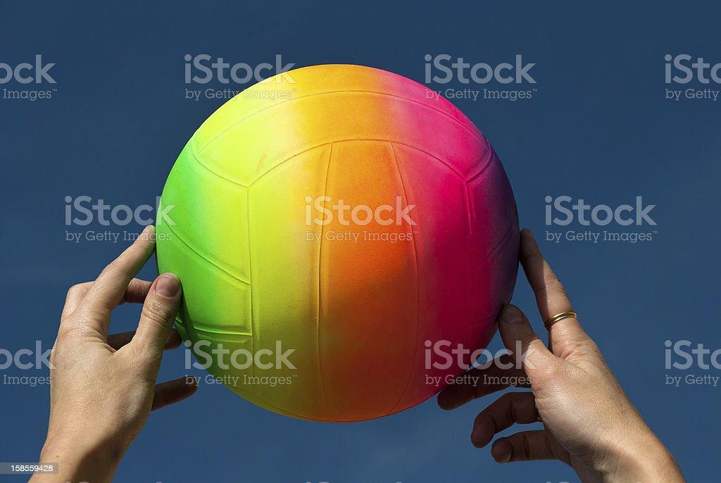 레인보우 ball royalty-free 스톡 사진
