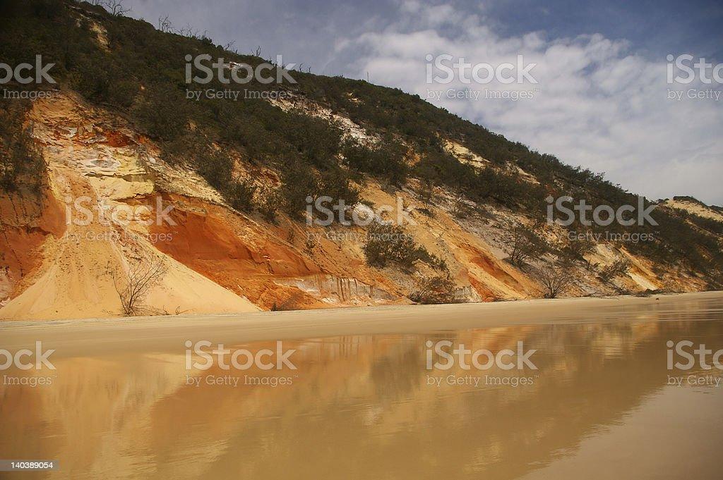 Rainbow Beach stock photo