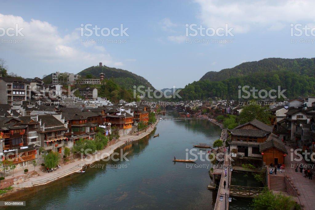 rainbow bridge in fenghuanghunan province china stock photo more rh istockphoto com