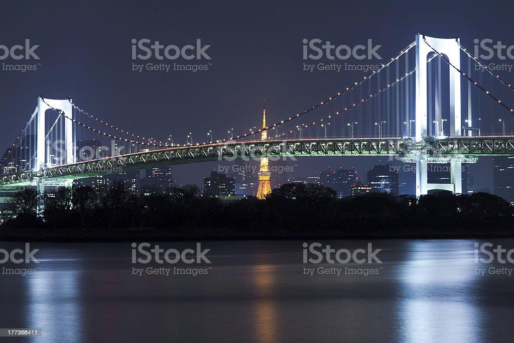 rainbow bridge royalty-free stock photo