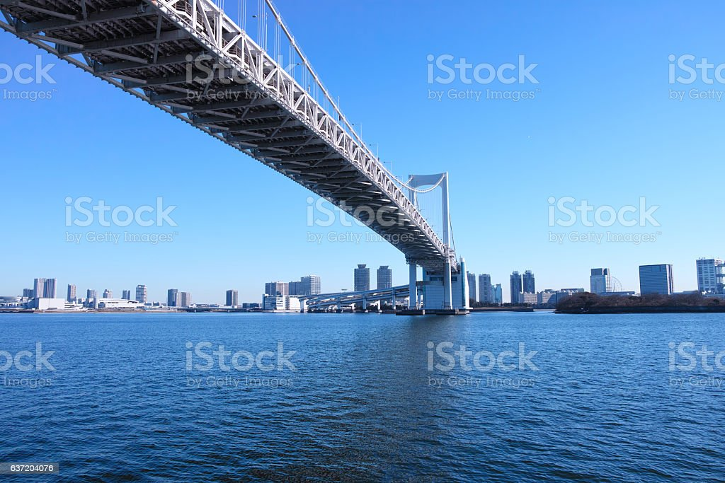 Rainbow Bridge stock photo