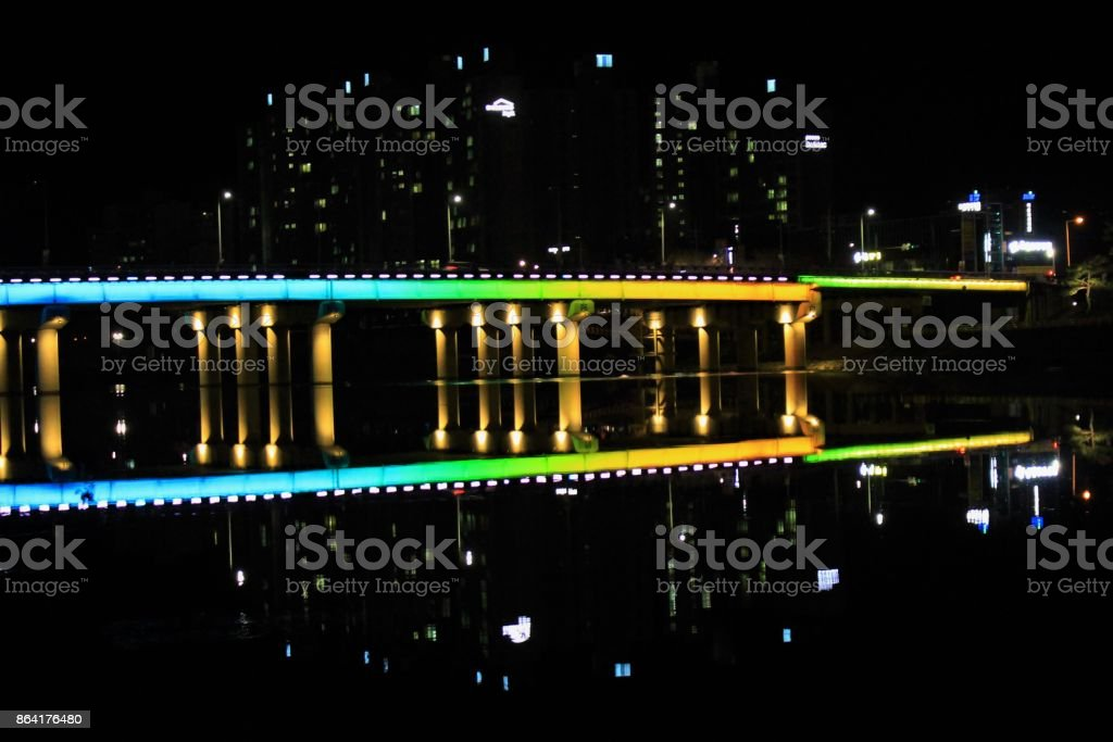 Rainbow Bridge royalty-free stock photo