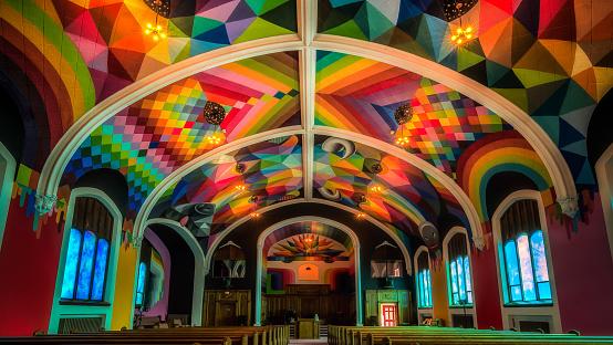 rainbow church in denver