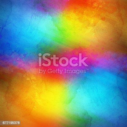 istock Rainbow Colored Background 672195378