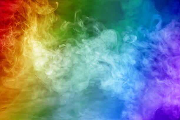 couleurs arc-en-ciel non-fumeur - fond multicolore photos et images de collection