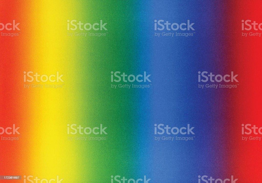 rainbow colored XXL cardboard stock photo