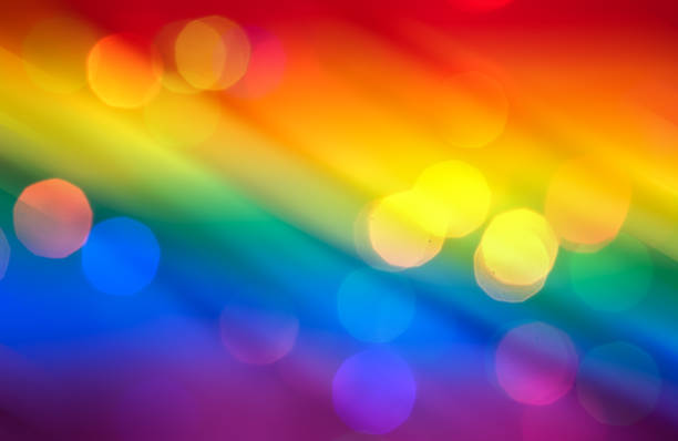 Rainbow Colorful Background stock photo