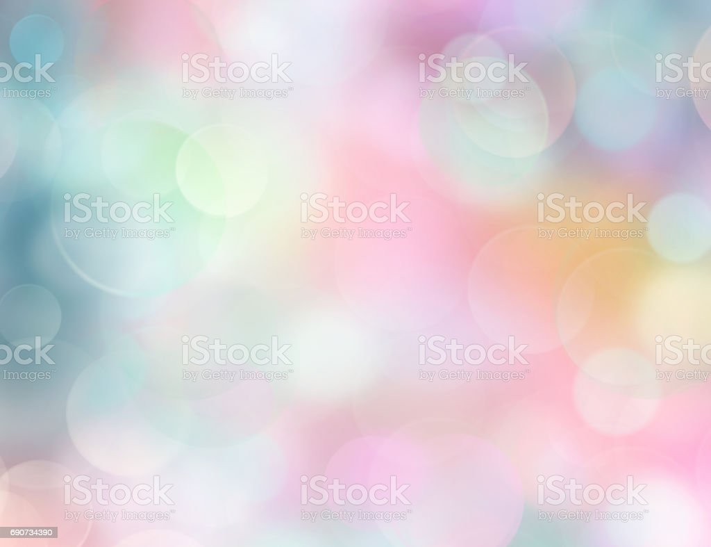 Rainbow colors soft blurred background.Spring  backdrop. stock photo