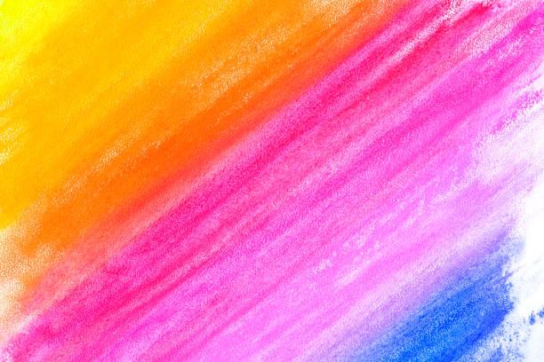 regenbogen-diagonalen streifen-muster. handgezeichneten bleistift und wasser farbe grafik malerei auf weiße strukturierte kulisse für kreative karten, bunte banner, wallpaper, bilder, covers, party-einladungen. - scribble stock-fotos und bilder