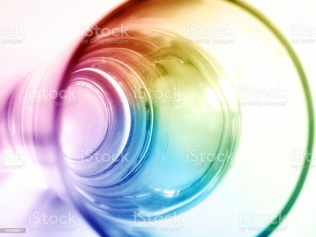Rainbow Drink royalty-free stock photo