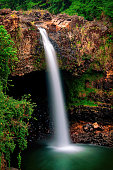 Rainbow Falls just outside of Hilo on the Big Island of Hawaii