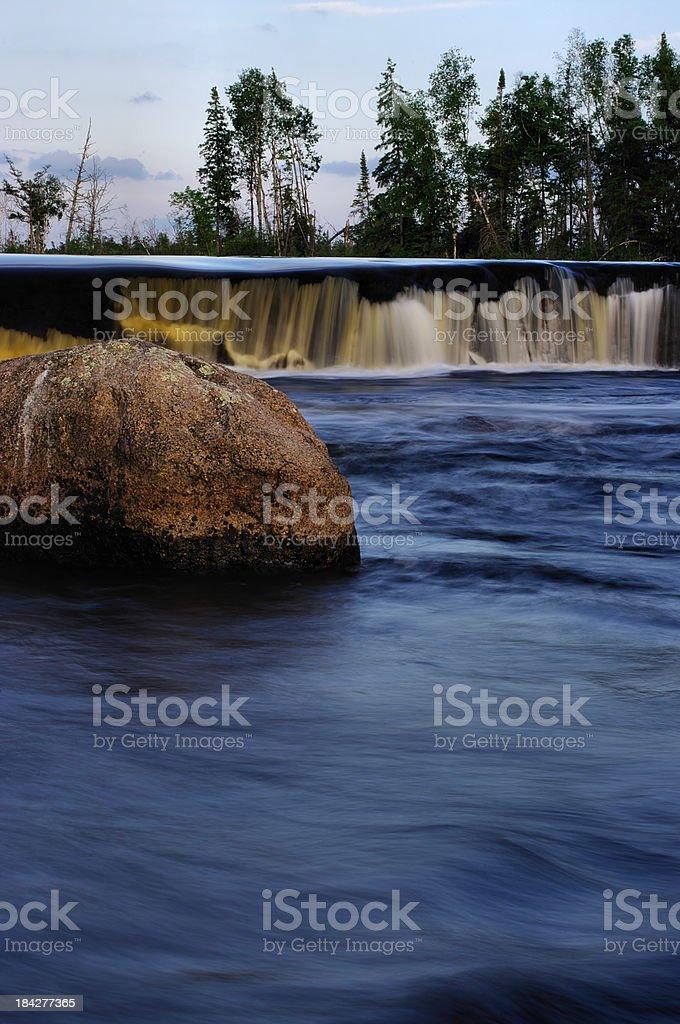 Rainbow Falls royalty-free stock photo