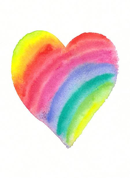 Regenbogen Herz – Foto