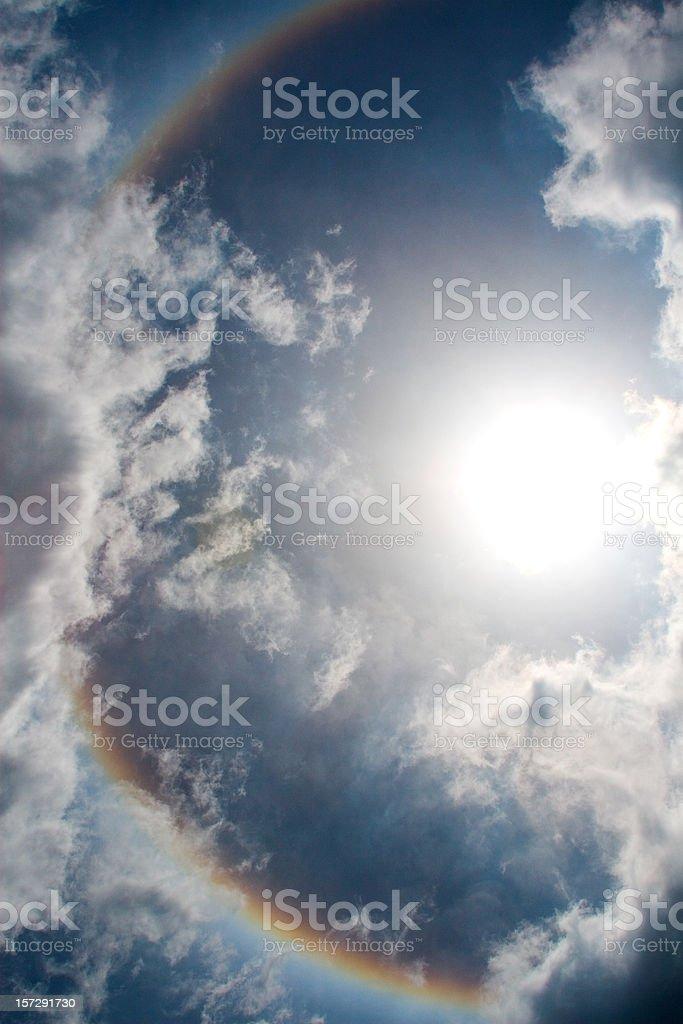 Rainbow heaven royalty-free stock photo