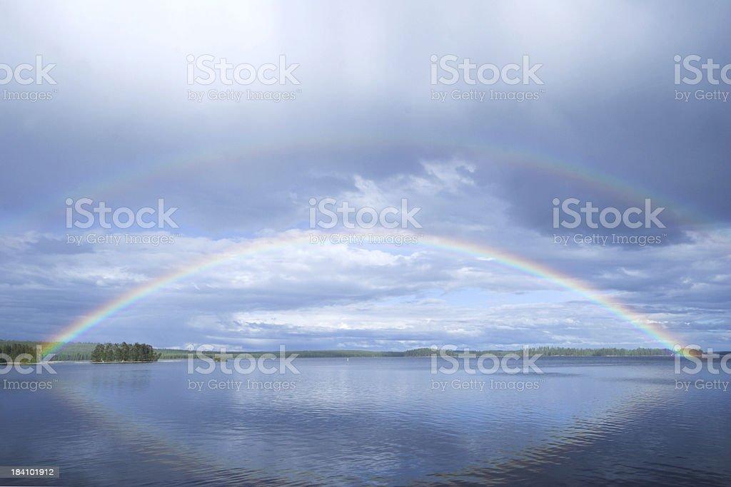 Rainbow Islands royalty-free stock photo