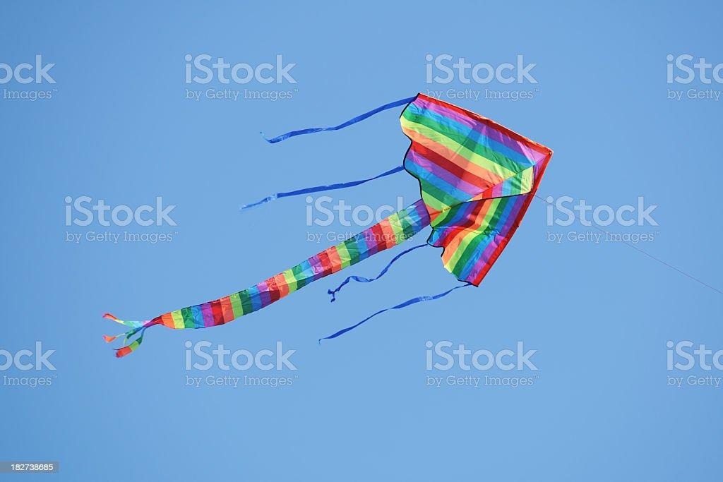 Rainbow Kite - XLarge royalty-free stock photo