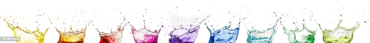 istock rainbow liquid splash crowns collection 815624996
