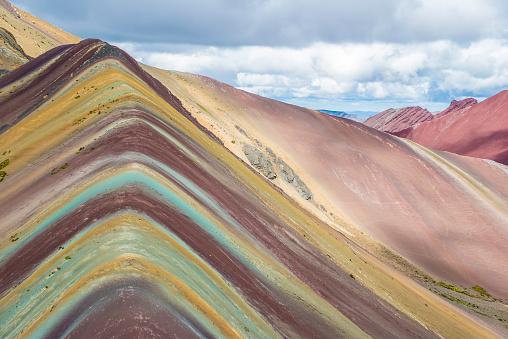 istock Rainbow Mountain Hike 958003052