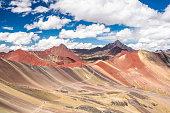 istock Rainbow Mountain, the landmark of Peru. 966307202