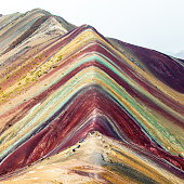 istock Rainbow mountains or Vinicunca Montana of Seven Colors 1188304525