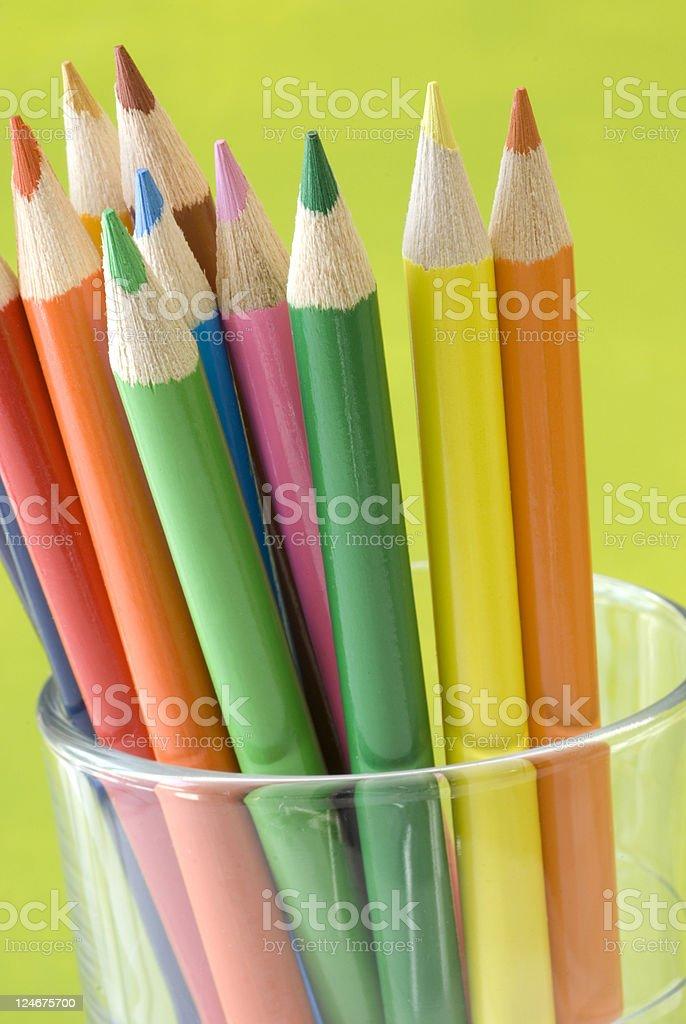 Rainbow of colors royalty-free stock photo