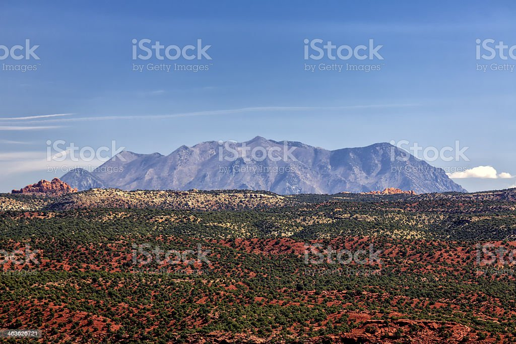 Rainbow of Desert Color stock photo