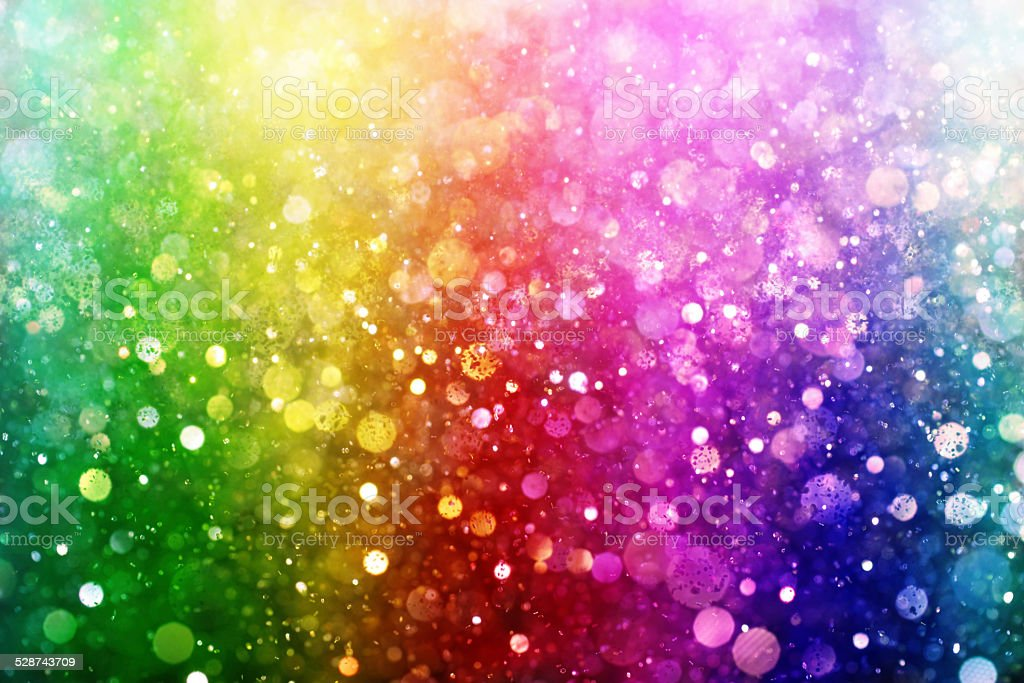 Rainbow de luces - foto de stock