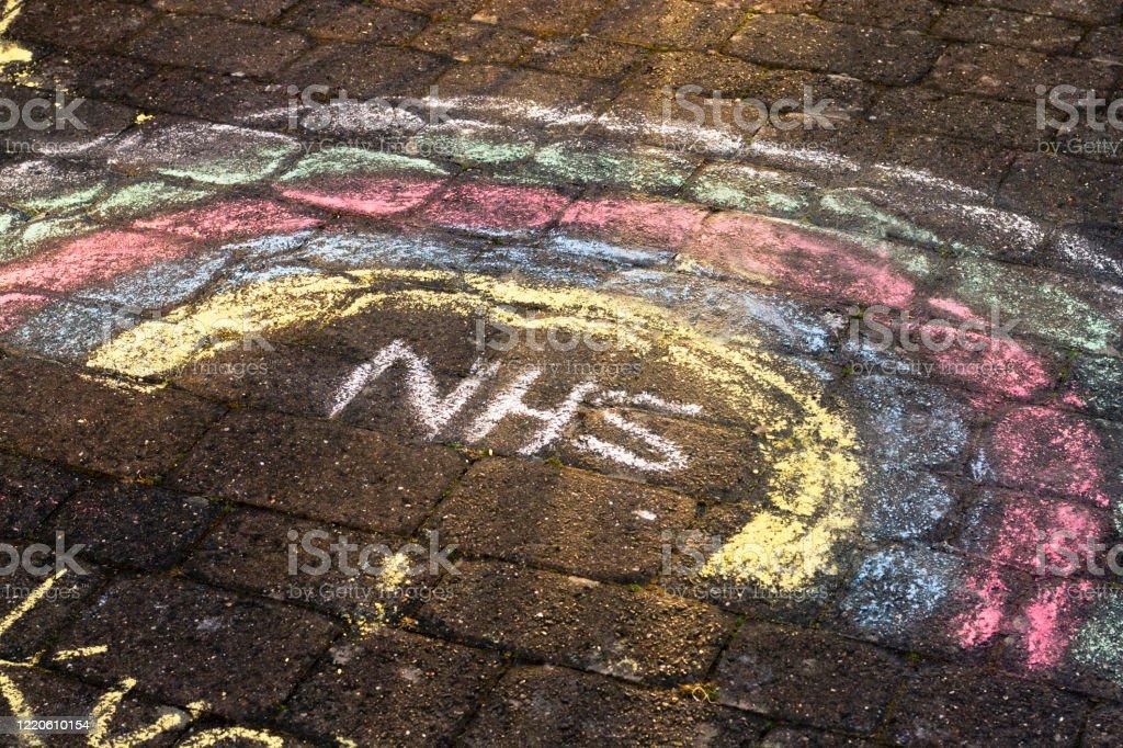 NHS Regenbogen - Lizenzfrei Ansteckende Krankheit Stock-Foto