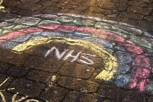 Nhs Regenbogen Stockfoto und mehr Bilder von Ansteckende Krankheit