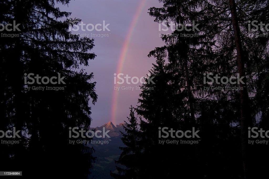 Torre Rainbow foto de stock libre de derechos
