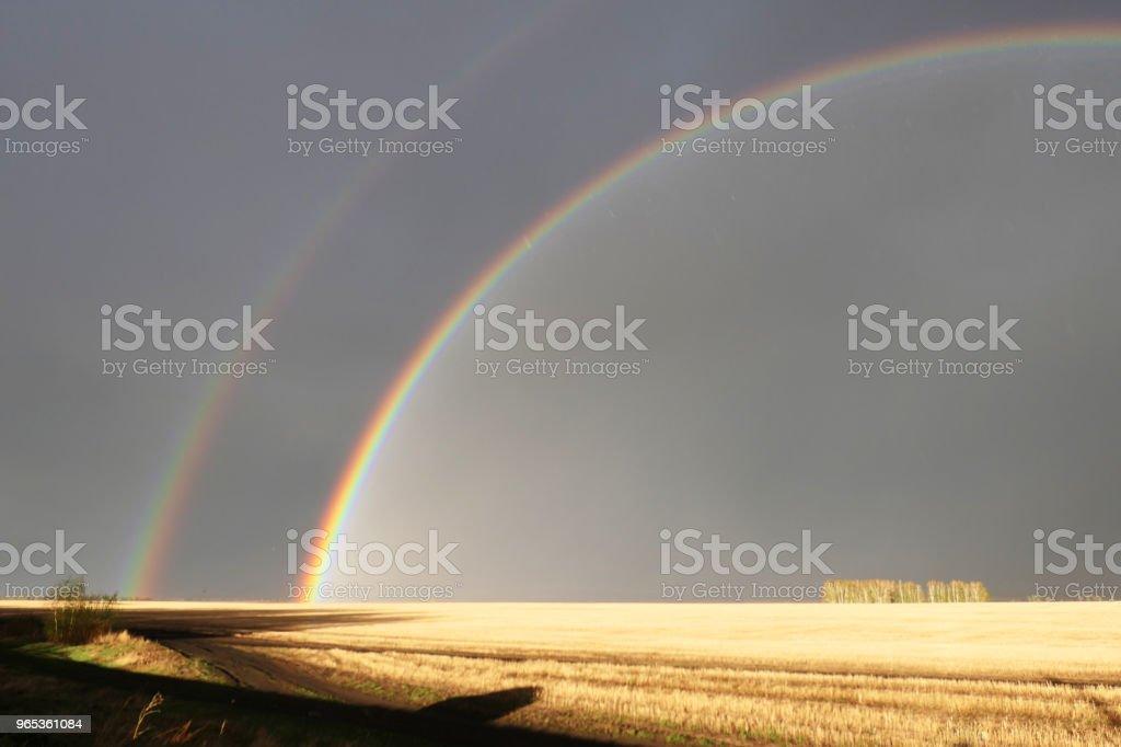 rainbow (무지개) - 로열티 프리 0명 스톡 사진