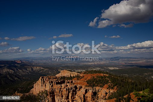 Rainbow Point Overlook in Bryce Canyon National Park, Utah