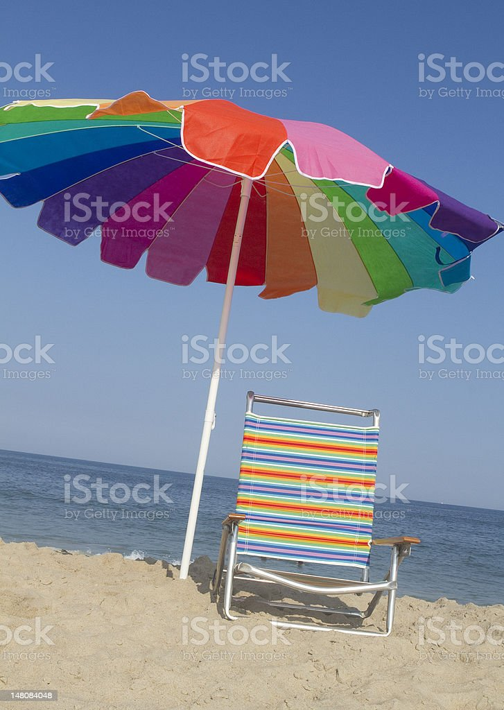Rainbow Relaxing royalty-free stock photo