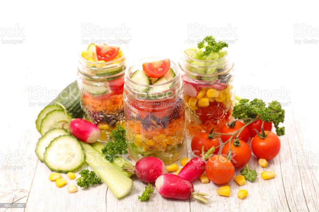 rainbow salad royalty-free stock photo