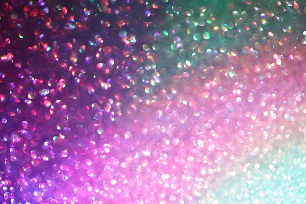 Rainbow shimmer stock photo