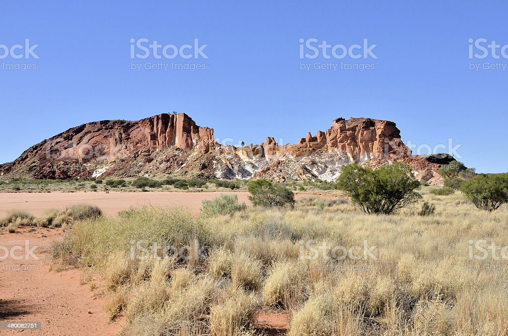 Rainbow Valley, Australia stock photo